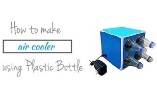 How to make air cooler using Plastic Bottle