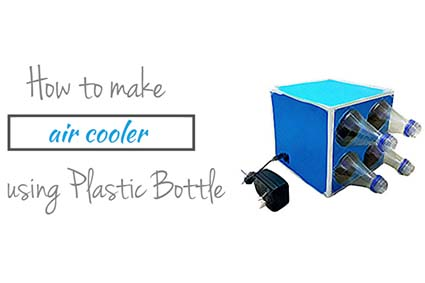 How to make air cooler with Plastic Bottles