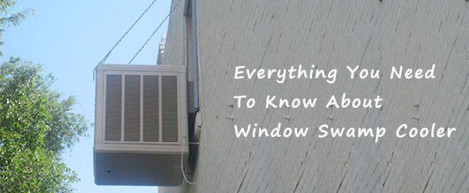 Window swamp cooler