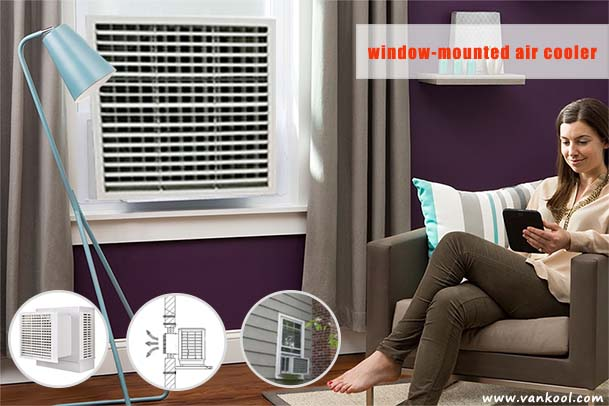 window-mounted air cooler