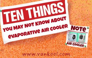 10 Things You May Not Know About evaporative air cooler
