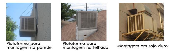 Três formas de instalar climatizadores