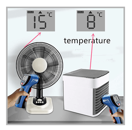 4.What Kind of Temperature Drop Can You Expect With the personal cooler?