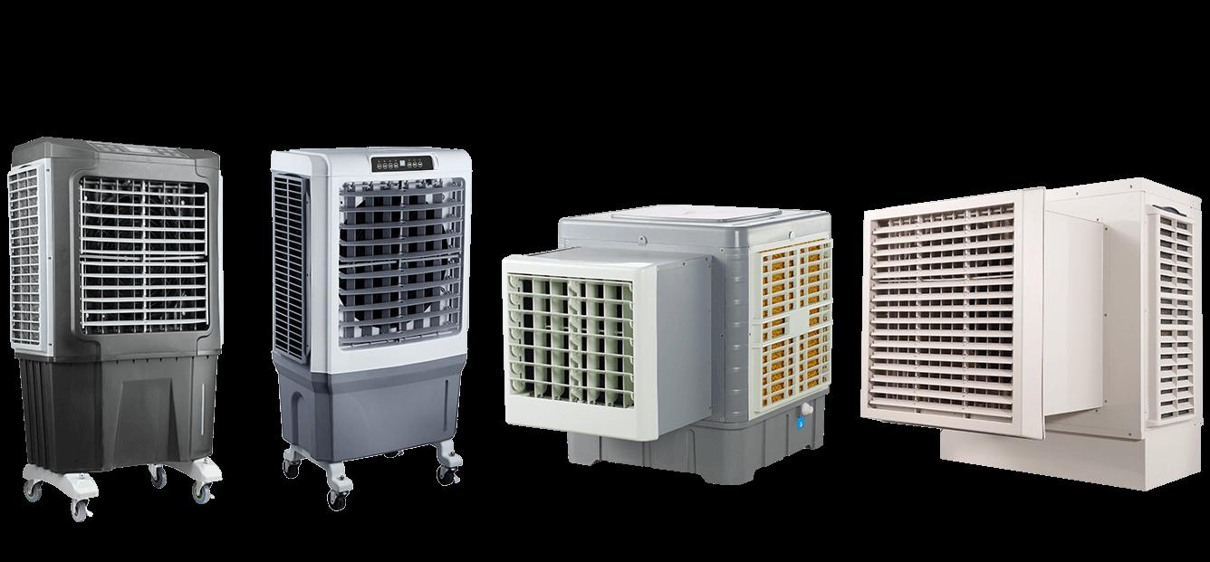 solar dc air coolers